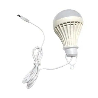 Lampu Bohlam LED BULB Energy Saving 7 Watt - Putih