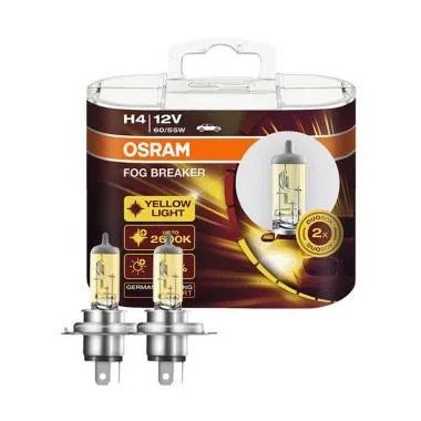 OSRAM 62193FBR High-Low Beam H4 Fog ... t Jazz 2007-2013 - Kuning