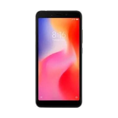 Xiaomi Redmi 6A Smartphone - Black [16GB/ 2GB/Resmi TAM]