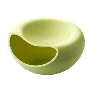 KarlyKaela Home Shelf  Multifunction Plate - Green [Small]