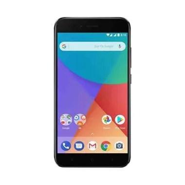 Xiaomi Mi A1 Smartphone - Black  [64GB/ 4GB] GARANSI TAM