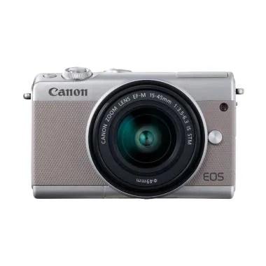 Canon EOS M100 Kit 15-45mm Grey Kam ...  Bonus SanDisk Ultra 16gb