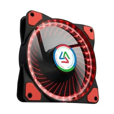 Alseye Wind Light 1.0 Cooler Case Fan with 32 LED - Merah