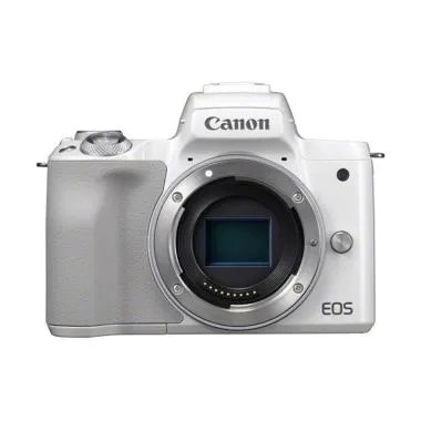Canon EOS M50 Kamera Mirrorless - White [Body Only]