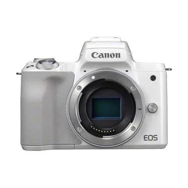 Canon EOS M50 Kamera Mirrorless - White [Body Only]