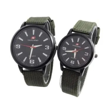 Swiss Army SA3552 Jam Tangan Couple