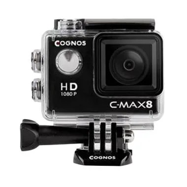 Cognos Cygnus Action Camera - Hitam [12 MP/1080p]