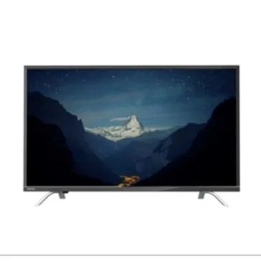 Toshiba 49U7650 Smart TV - Hitam [49 Inch/4K/UHD]