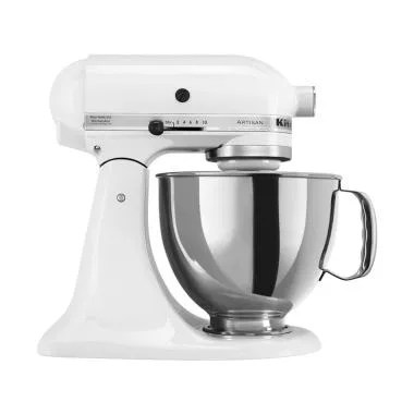 KitchenAid Artisan Series Tilt Head Stand Mixer - White [4.8 L]