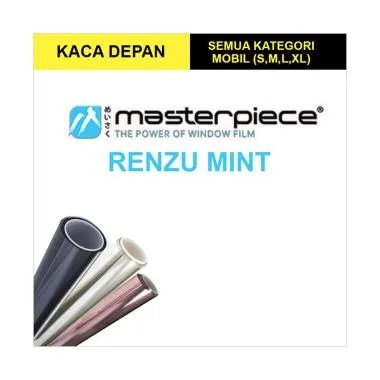 Masterpiece Renzu Mint Kaca Film Mobil for Small Car [Kaca Depan]