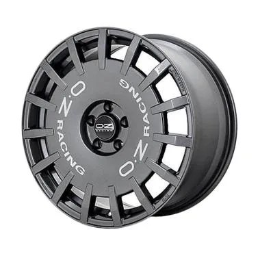 OZ Rally Racing R19x8.5 ET45 - PCD: ...  Graphite [Gratis Pasang]