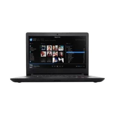 Laptop Lenovo Ideapad 110-AKID Note ... /14 Inch/DOS/DVDRW] Hitam
