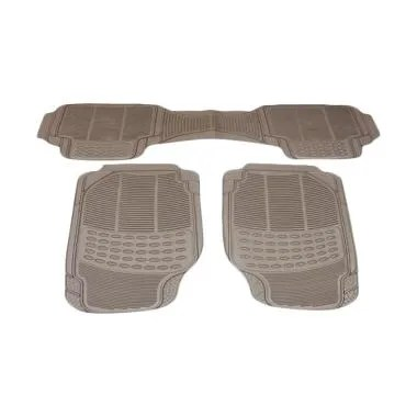 DURABLE Comfortable Universal PVC K ... for BMW Z4 - Beige [3pcs]