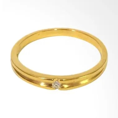 Pentacles FC02326 Wedding Ring Yellow Gold With Diamond
