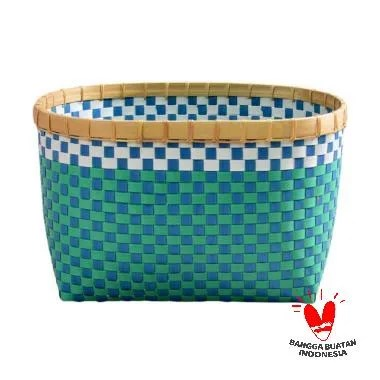 Nine Square Strapping band Basket [M]