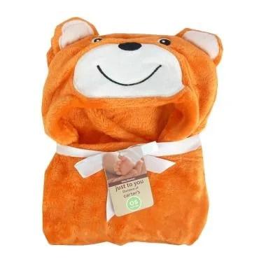 Carter's Bear Topi Selimut Bayi - Orange