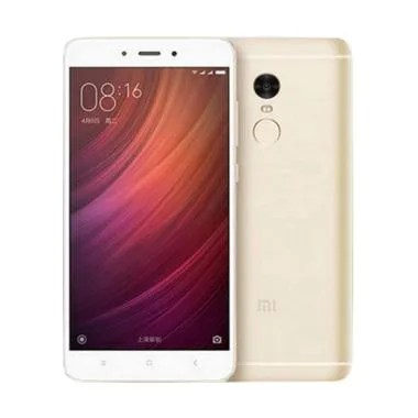 Xiaomi Redmi Note 4 Smartphone - Emas [64 GB/ 3 GB] Free Tongsis Cable