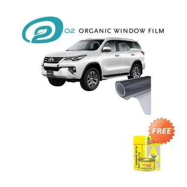 O2 Organic Kohi or Sake Full Kaca Film for Large Car