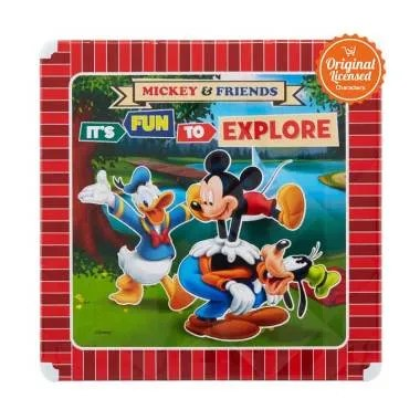 Mickey Mouse Table Kids - Red [55 cm]