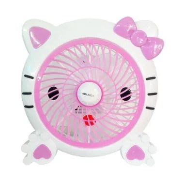 Wellhome Fancy Hello Kitty Kipas Angin - Pink [10 Inch]
