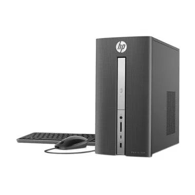 HP Pavilion 570-Desktop PC[ i3-7100U/4GB/1TB/DOS] + MNONITOR 20 INCH