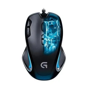 Logitech G300s Gaming Mouse - Black