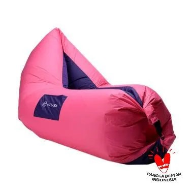 Uttara Parachute Chair Bed - Pink Purple