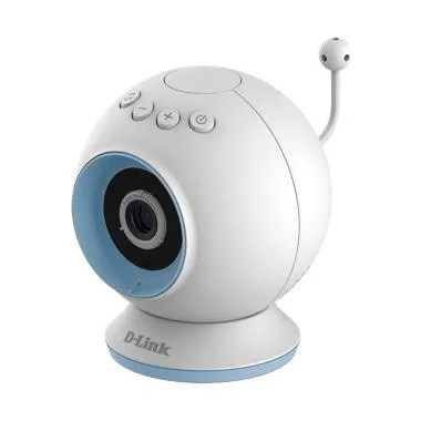 D-Link DCS -825L HD Cloud Day and Night Wi-Fi Baby Camera - White Blue