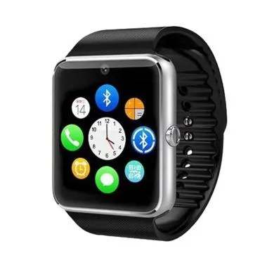 Xwatch GT08 Smartwatch for Android and IOS - Black Silver