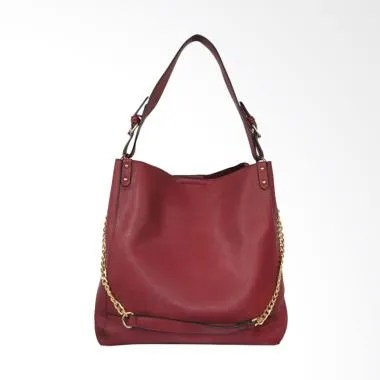Bellezza MS-E70 Woman Shoulder Bag - Red Wine