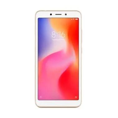 Xiaomi Redmi 6A Smartphone - Gold [16 GB/ 2 GB/Resmi TAM]