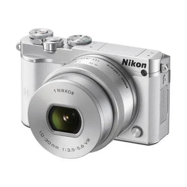 Nikon 1 J5 Kit 10-30mm Kamera Mirrorless - White