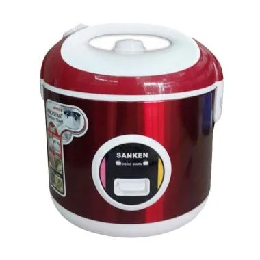 Sanken Rice Cooker SJ 200/ SJ200 - Red - Bubble Wrap