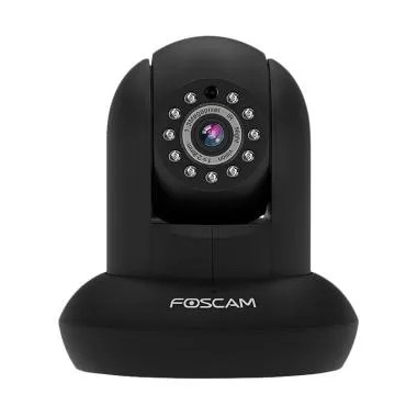 Foscam FI9831P Kamera CCTV - Hitam [Plug and Play]