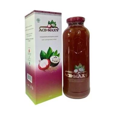 Ace Maxs Herbal Extract Kulit Manggis 350 mL X 3 Botol