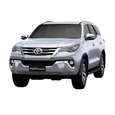 Toyota New Fortuner 4x2 2.4 VRZ  DSL LUX Mobil - Silver Metallic