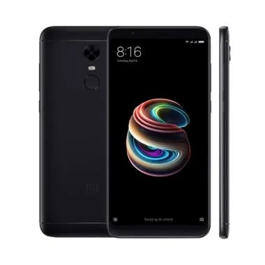 Xiaomi Redmi 5 Plus Smartphone - Black [64GB/ 4GB]