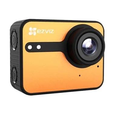 Ezviz S1C Action Camera - Orange [F ... h Screen/ WiFi/ Original]