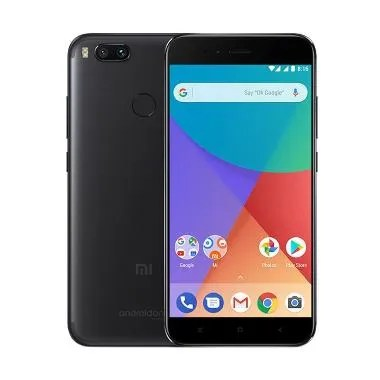 Best Price - Xiaomi Mi A1 Smartphone - Black [64GB/4GB/Resmi TAM]