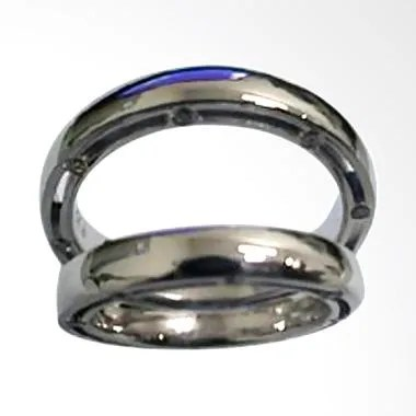 Pentacles GICI-20 Wedding Ring White Gold with Diamonds