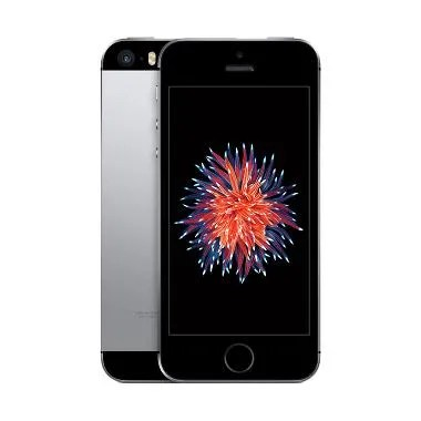 Apple iPhone SE 64 GB Smartphone - Space Gray Free Tongsis