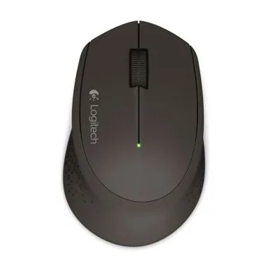 Logitech M331 Silent Plus wireless mouse hitam