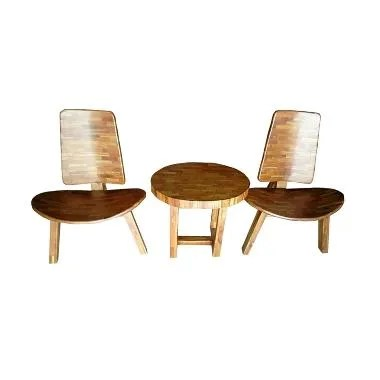 Best Furniture Kursi Santai Teras Liman Jati Klasik [1 Set]