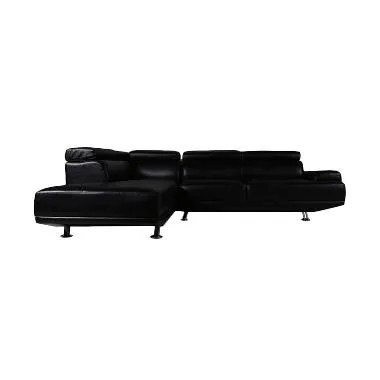Best Furniture Wellington's Sofa L ShakeSpeare Virotex Black
