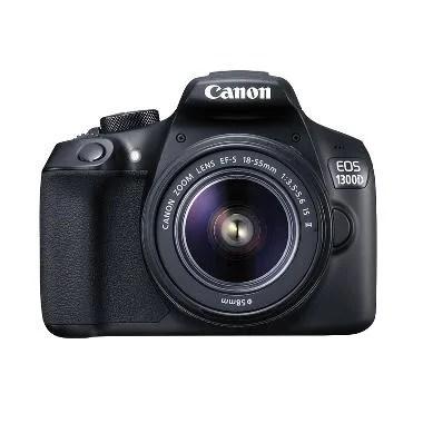 Canon EOS 1300D Kit 18-55 IS II (Resmi PT Datascrip)