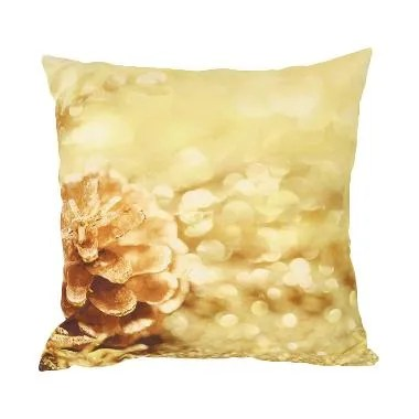 Curated Home CUSHION COVER WITH INSERT - GOLDEN PINE (45cm x 45cm)