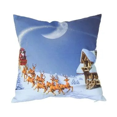 Curated Home CUSHION COVER WITH INS ... NIGHT SCENE (45cm x 45cm)