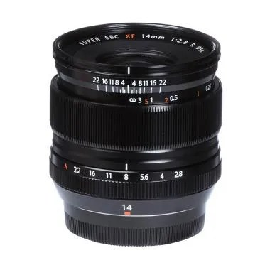 Fujifilm Fujinon XF 14mm F2.8 R Ultra Wide Angle Lensa Kamera - Hitam