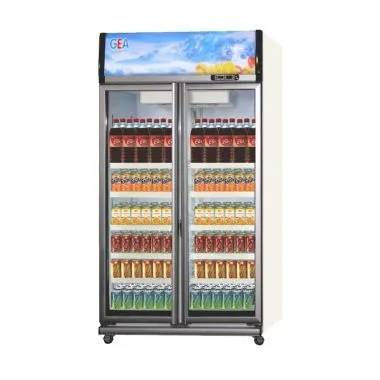 GEA EXPO-1050AH/CN Showcase Display Cooler [1050L] - Putih