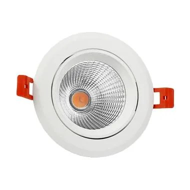 Hiled Ceiling DownLight Lampu LED - WarmWhite [COB/ 12W/ 220V]